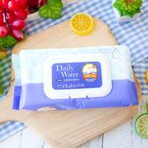 韓國 Daily Water 拋棄式抗菌抹布濕紙巾 廚房用 (紫/掀蓋型) 350g 80抽 抗菌 抹布 濕紙巾