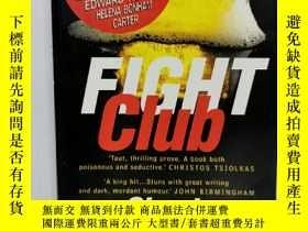 二手書博民逛書店恰克·帕拉尼克:搏擊俱樂部罕見Fight Club by Chu
