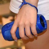 藍芽喇叭 便攜式無線藍芽音箱超重低音炮插卡U盤mp3音樂播放器收音機戶外迷你收款 免運 艾維朵