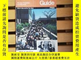 二手書博民逛書店英文原版:The罕見San Francisco and Bay Area Guide(Week of July 1