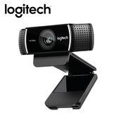 Logitech 羅技 C922 PRO STREAM 網路攝影機【贈手機指環】