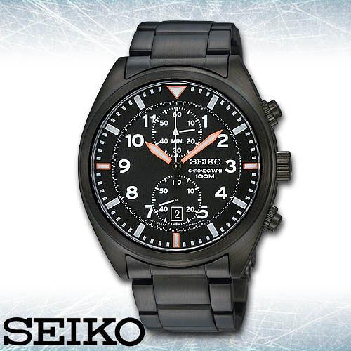 SEIKO 精工手錶專賣店 SNN237P1 男錶 石英錶 不鏽鋼錶帶 強化玻璃鏡面 防水100米