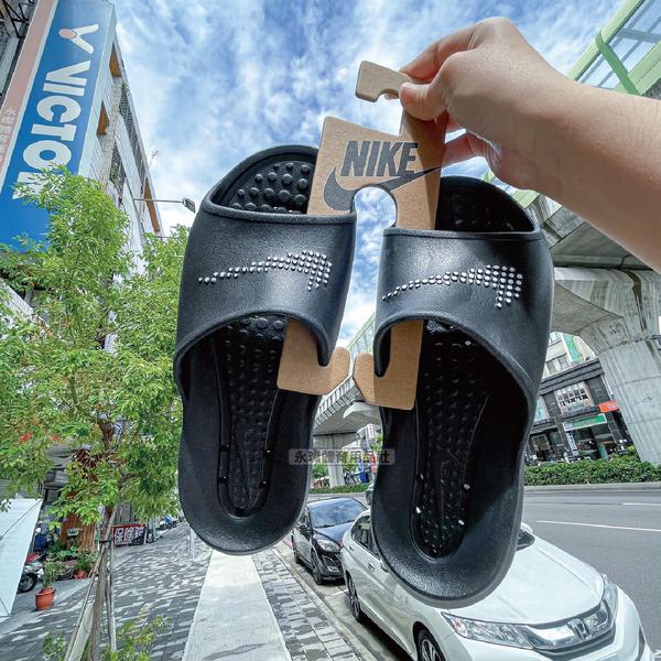 NIKE 男女 一體式 休閒 防水 拖鞋 運動 海邊 海灘鞋 健身房 輕量 休閒 黑 CZ5478-001