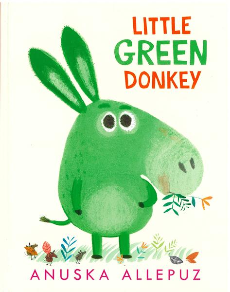 【麥克書店】LITTLE GREEN DONKEY 《偏食/幽默/趣味/性格》作家: Anuska Allepuz