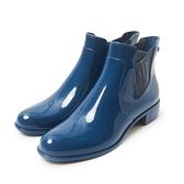 Petite Jolie  銀蔥鬆緊爾西短靴-蔚藍色