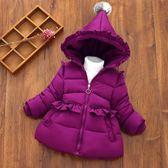 寶寶反季棉衣女童冬裝加厚1-3-5歲兒童裝棉服外套嬰幼兒羽絨棉襖 夢曼森居家
