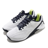 Reebok 訓練鞋 Nano X1 白 深藍 黃 慢跑 健身 Crossfit 專業訓練 男鞋 【ACS】 FZ4298