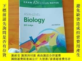 二手書博民逛書店AS A-LEVEL罕見Biology(exams Revision Notes)2nd Edition 大16開
