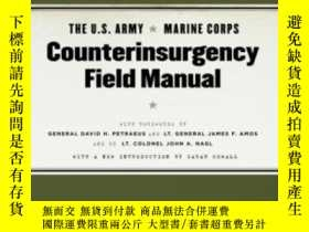 二手書博民逛書店The罕見U.s. Army marine Corps Counterinsurgency Field Manua