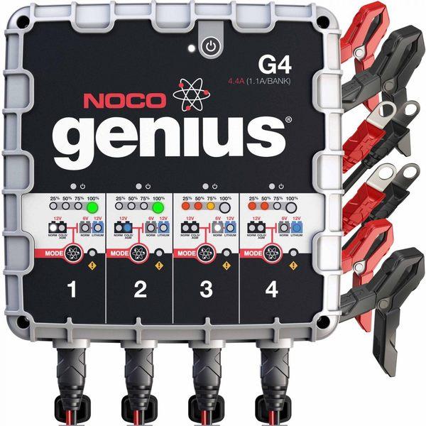 NOCO GENIUS G4 自動充電器 快速充電 零過充