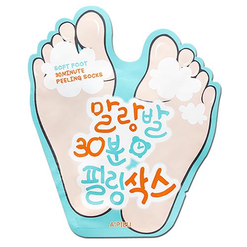 韓國 Apieu 去角質足膜(1對入)【小三美日】