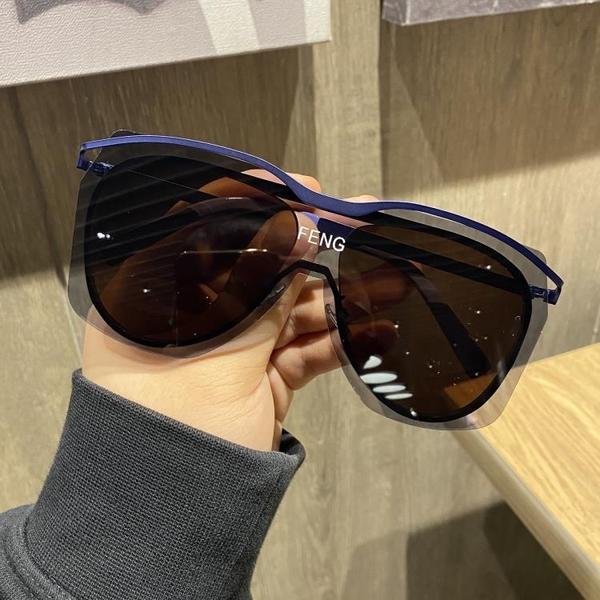 韓版潮個性超大框太陽鏡