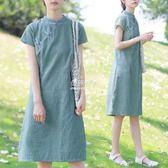 女裝旗袍時尚復古少女甜美現代改良洋裝  伊莎公主