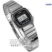 CASIO卡西歐 復古時尚魅力 多功能計時鬧鈴 電子錶  小錶面 女錶 LA670WD-1DF LA670WD-1D LA670WD-1