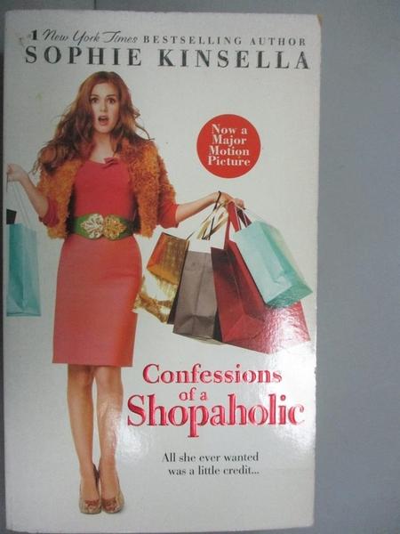 【書寶二手書T1/一般小說_IMN】Confessions of a Shopaholic_SOPHIE KINSELLA