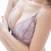 內衣 波西米亞成套內衣組(紫)-集中爆乳性感胸罩_A罩杯~B.C.D大罩杯_蜜桃洋房