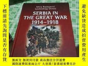 二手書博民逛書店SERBIA罕見IN THE GREAT WAR 1914-19