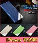 【萌萌噠】iPhone 5 / 5S / SE 正品 歐普瑞斯 磨砂手感 側翻皮套 防震 免翻蓋 自動吸附 手機殼