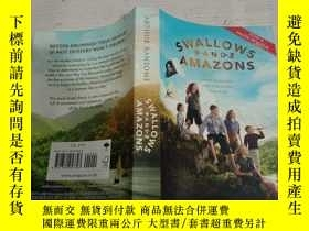 二手書博民逛書店SWALLOWS罕見AND AMAZONS(燕子与鹦鹉)Y200392
