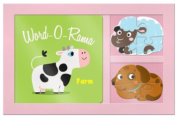 Word-O-Rama:Farm 農場生活小書與拼圖組