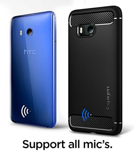 【Mitra】Spigen 韓國 SGP HTC U11 Rugged Armor 卡夢紋 碳纖紋 軟質手機殼
