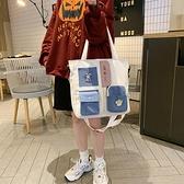 媽咪母嬰背包外出2021年新款時尚手提大容量多功能尼龍斜挎單肩包 伊蘿 99免運
