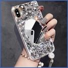 蘋果 iPhone12 iPhone11 12mini 12Pro Max SE2 XS IX XR i8+ i7 i6 化妝鏡鑽殼 手機殼 水鑽殼 訂製