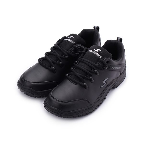 PROMARKS 寶瑪士輪胎紋防滑鞋 黑 男鞋 鞋全家福