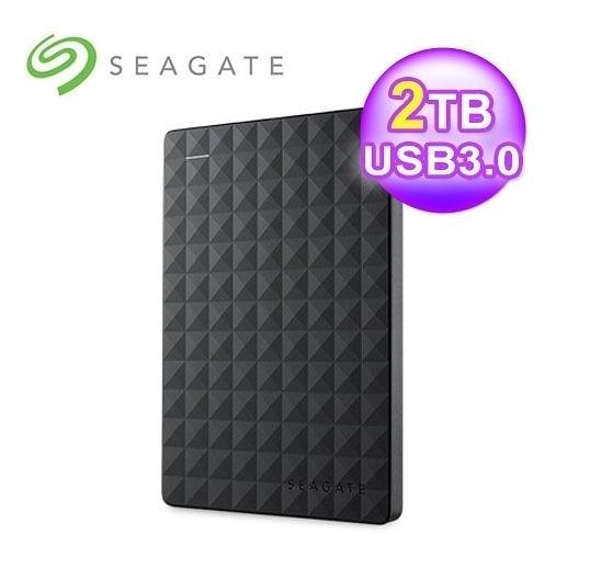 "【超人生活百貨】免運 Seagate Expansion 新黑鑽 2TB 2.5"" 行動硬碟 STEA2000400"