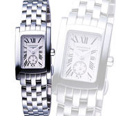 LONGINES 浪琴 DolceVita 獨立小秒針優雅女錶-銀 L51554716
