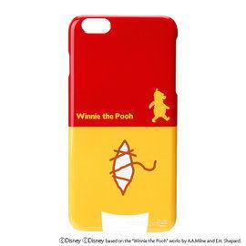 【漢博商城】iJacket Disney iPhone 6 Plus 背影系列硬式保護殼 - 小熊維尼