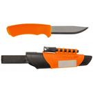 [MORAKNIV] BUSHCRAFT SURVIVAL 不鏽鋼野外求生軍用直刀 - 橘  (12051)