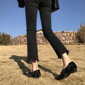 【降價兩天】大尺碼女裝 胖妹妹mm適合胯寬大腿根粗的女生褲子 牛仔褲