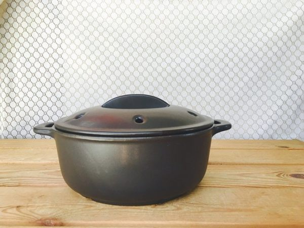 ~佐和陶瓷餐具~【XL041213-10 7號兩用蒸煮土鍋-日本製】 / 蒸鍋 煮鍋 土鍋 砂鍋 /