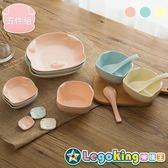 【樂購王】嘿豬豬 台灣獨家代理《豬頭頭 碗盤餐具組合》環保材質 彩晶瓷【B0744】
