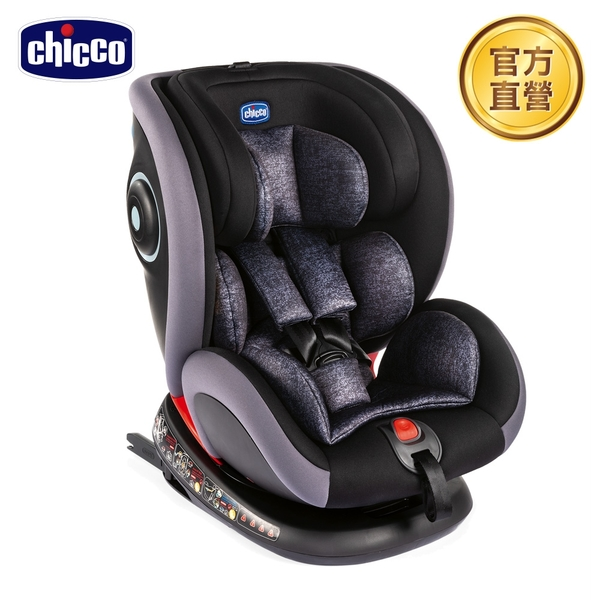 【新款上市】chicco-Seat 4 Fix Isofix安全汽座-石墨黑