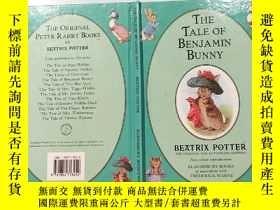 二手書博民逛書店the罕見tale of benjamin bunny:本傑明兔子的故事:Y200392