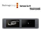 黑熊館 Blackmagic Design 黑魔法 Smartscope Duo 4K 多功能機架式雙液晶彩色監視器