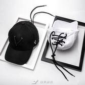 王嘉爾同款帽子女黑白色棒球帽男士潮流個性ifashion嘻哈潮鴨舌帽 樂芙美鞋