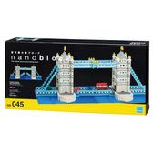 《 Nano Block 迷你積木 》NB-045 倫敦塔橋╭★ JOYBUS玩具百貨