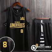 籃球服定制套裝男 一戰成名籃球衣 校園訓練服團購印號街頭球隊服