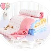 嬰兒寶寶毛毯新生兒童蓋毯子雙層加厚秋冬季珊瑚法蘭絨幼兒園云毯