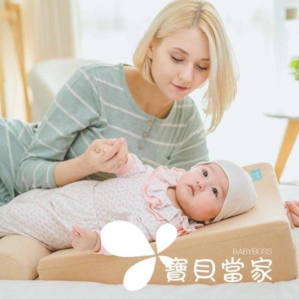 阿蘭貝爾嬰兒防吐奶斜坡墊0-1歲新生兒防溢奶寶寶枕頭喂奶神器