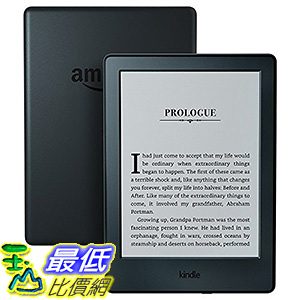 美國代購Amazon 新品 New Kindle E-reader-Black,6 Glare-Free Touchscreen Display,Wi-Fi 4GB _z02