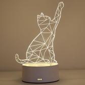 檯燈 卡通檯燈臥室床頭燈創意簡約現代小夜燈插電床頭創意夢幻節能溫馨 歌莉婭