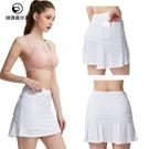 高爾夫裙 女士高爾夫短裙運動速干golf半身裙彈力鬆緊腰裙褲大碼高爾夫球裙-Ballet朵朵