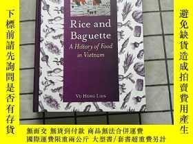二手書博民逛書店Rice罕見and Baguette: A History of Food in Vi... 進口原版 Y26