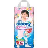滿意寶寶 日本頂級超薄紙尿褲-女用(XXL)(26片x3包)箱購-箱購