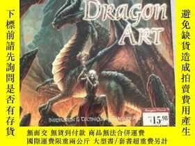 二手書博民逛書店Dragon罕見Art Inspiration, Impact