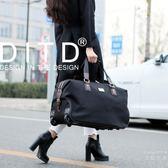 旅行袋 DITD男折疊手提旅行包拉桿包女商務大容量旅行袋行李包登機旅游包T